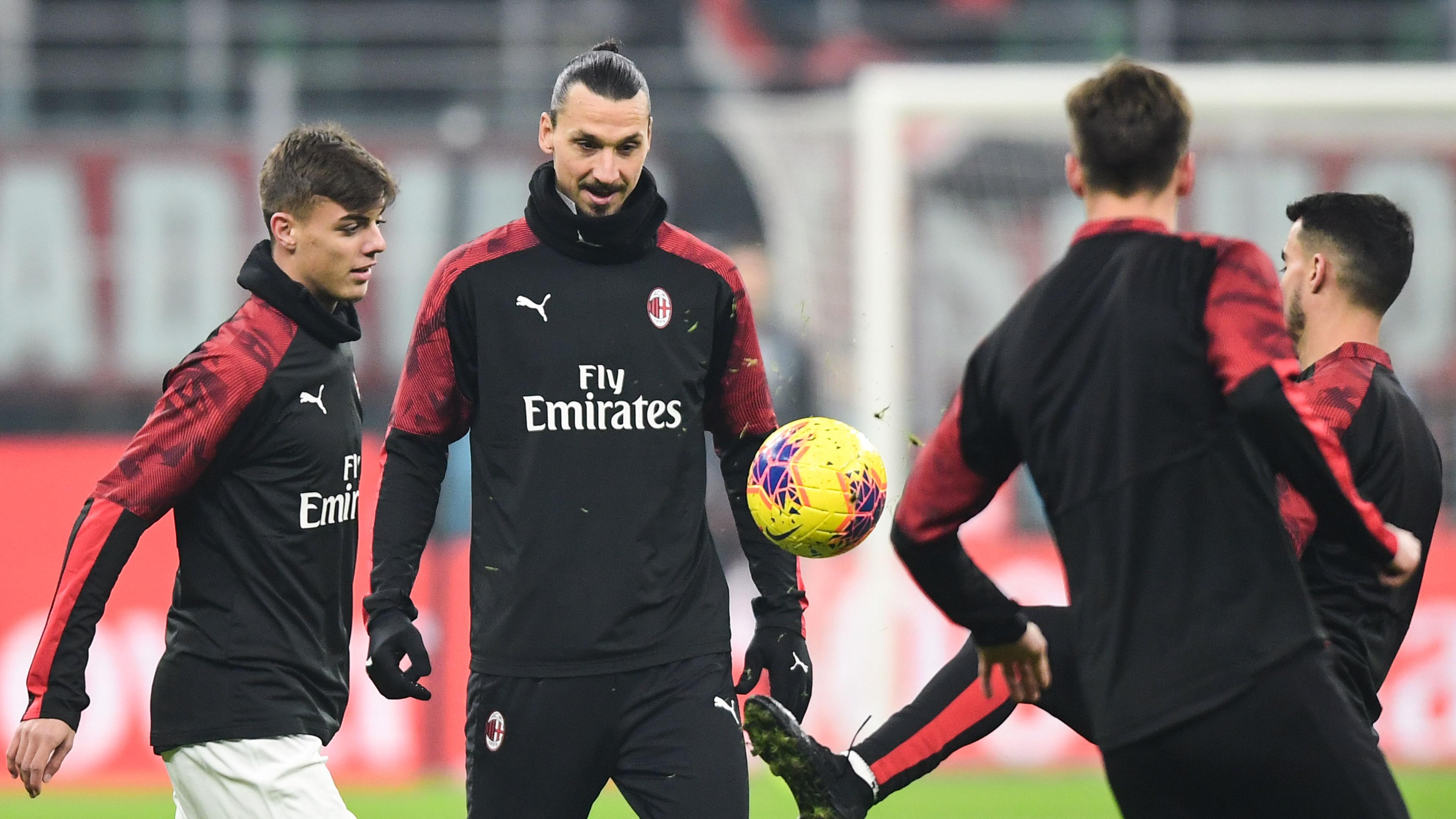 Unbelievable seeing Ibrahimovic working hard at AC Milan - Pioli