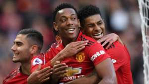 Anthony Martial Marcus Rashford Manchester United Watford 300319