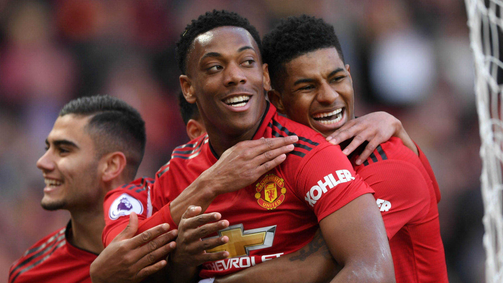 Image result for rashford and martial