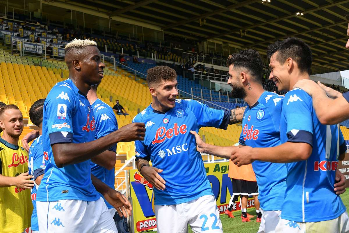 Osimhen Makes Napoli Debut In Away Victory Over Parma Goal Com