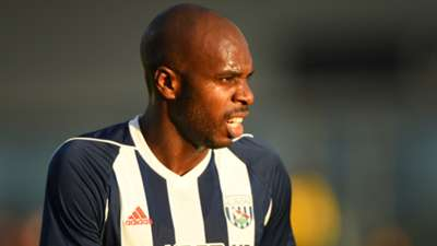 Allan Nyom of West Bromwich Albion
