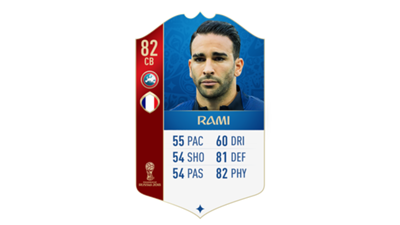 FIFA 18 World Cup France Rami