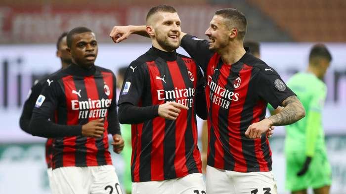 Rebic Krunic - Milan Lazio - Serie A 2020/21