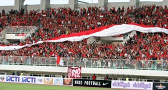 Fans Timnas Indonesia