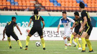 Irfan Zakaria, Malaysia U23, Kyrgyzstan U23