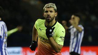 Kun Aguero, Sheffield Wednesday vs Man City