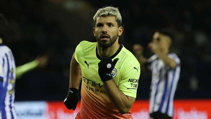 Kun Aguero, Sheffield Wednesday vs Man City