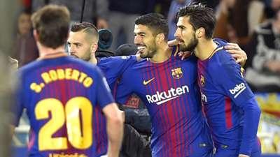 Barcelona Suarez Gomes 14012018