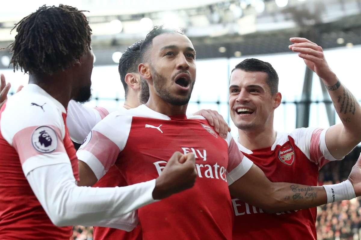Arsenal FC V Tottenham Hotspur FC Laporan Pertandingan 02