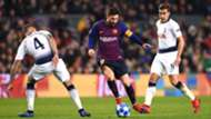 Lionel Messi Barcelona Tottenham UCL 11122018