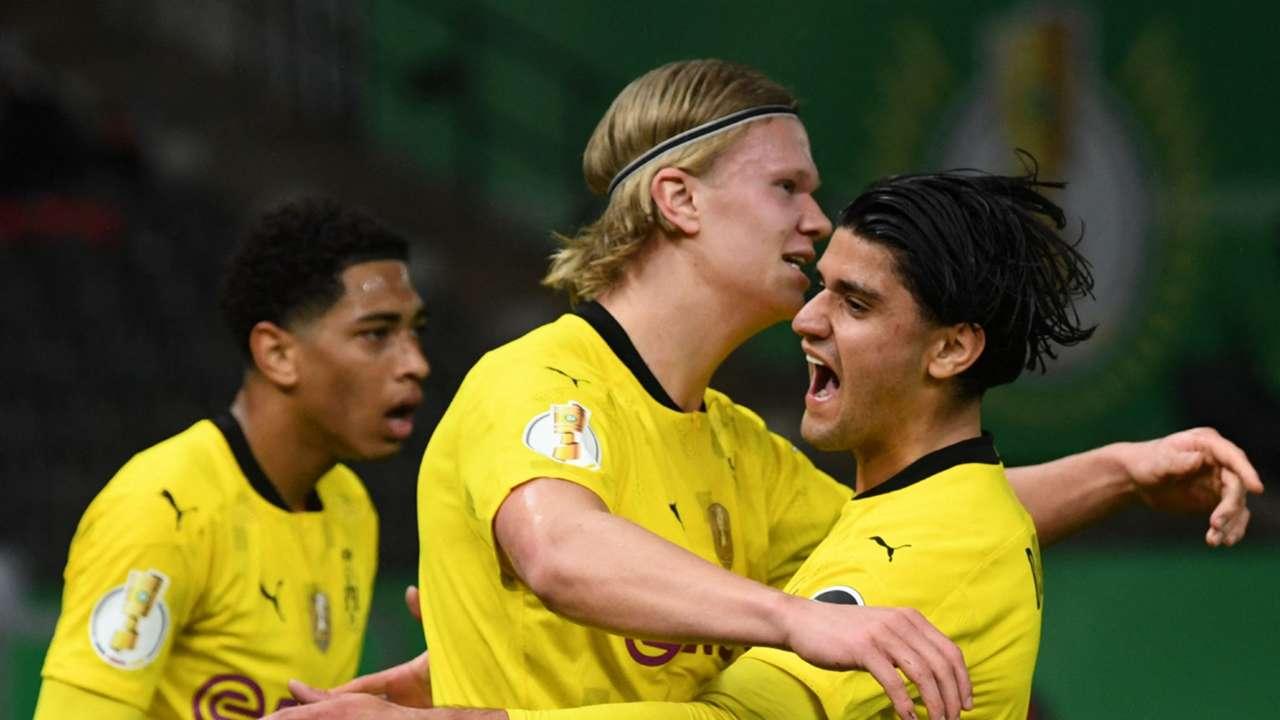 Haaland Dortmund DFB Pokal