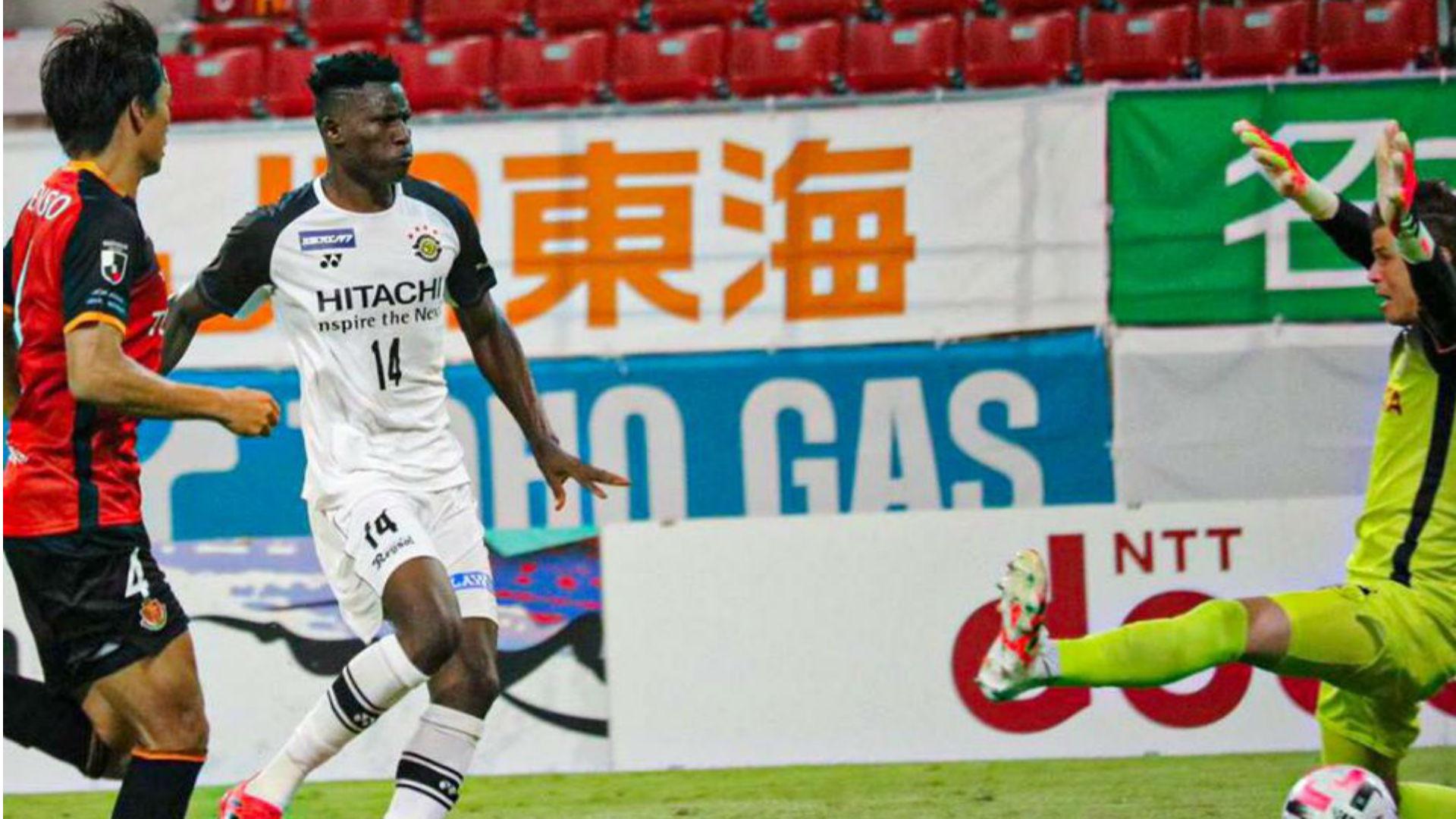 Olunga: Kenya forward scores as Kashiwa Reysol see off Iniesta's Vissel Kobe
