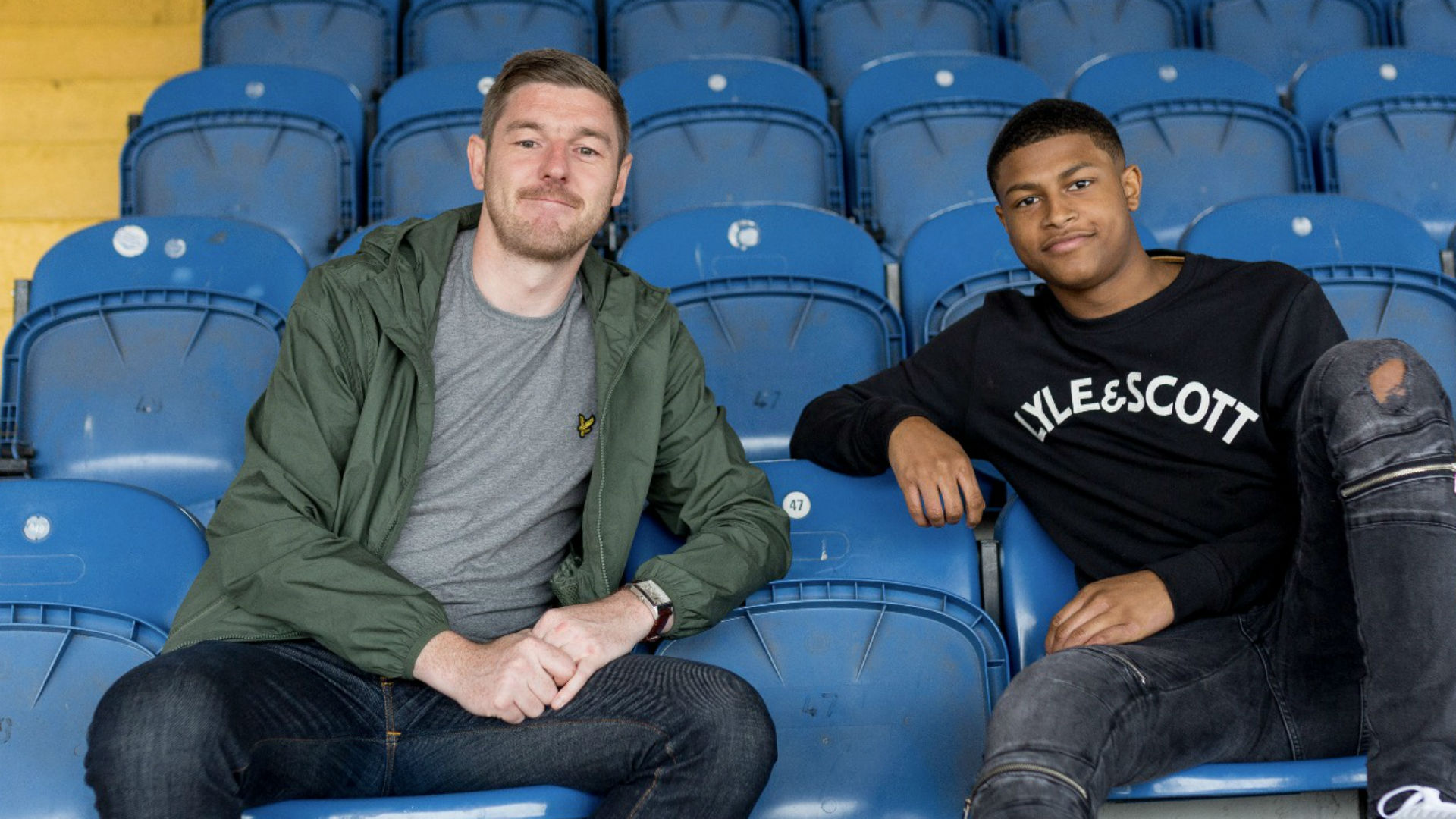Neil Jones speaks to Rhian Brewster