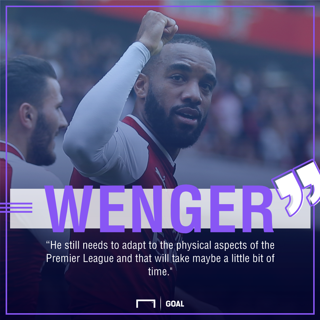 Lacazette Wenger Quote