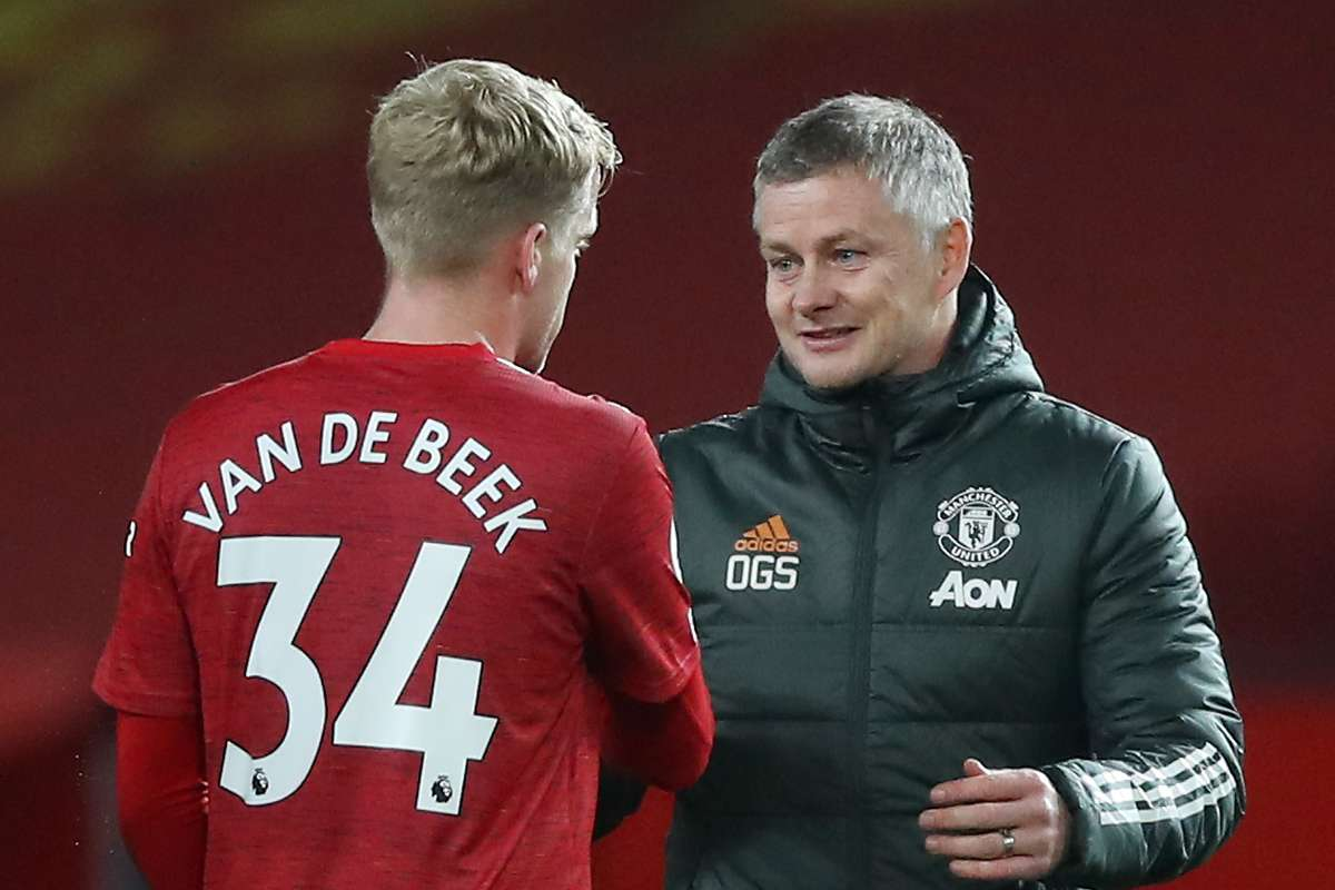 Cavani and Van de Beek adapting to Man Utd style - Solskjaer | Goal.com