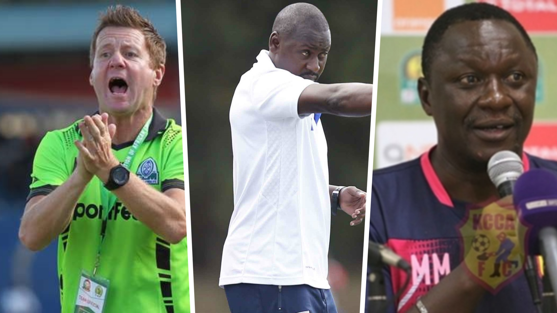 Eymael: Kerr, Mwalala and five coaches who can replace the Belgian at Yanga SC