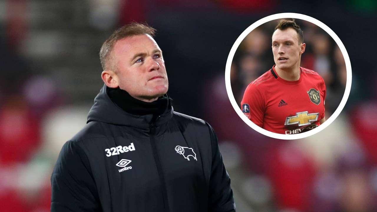 Wayne Rooney Phil Jones