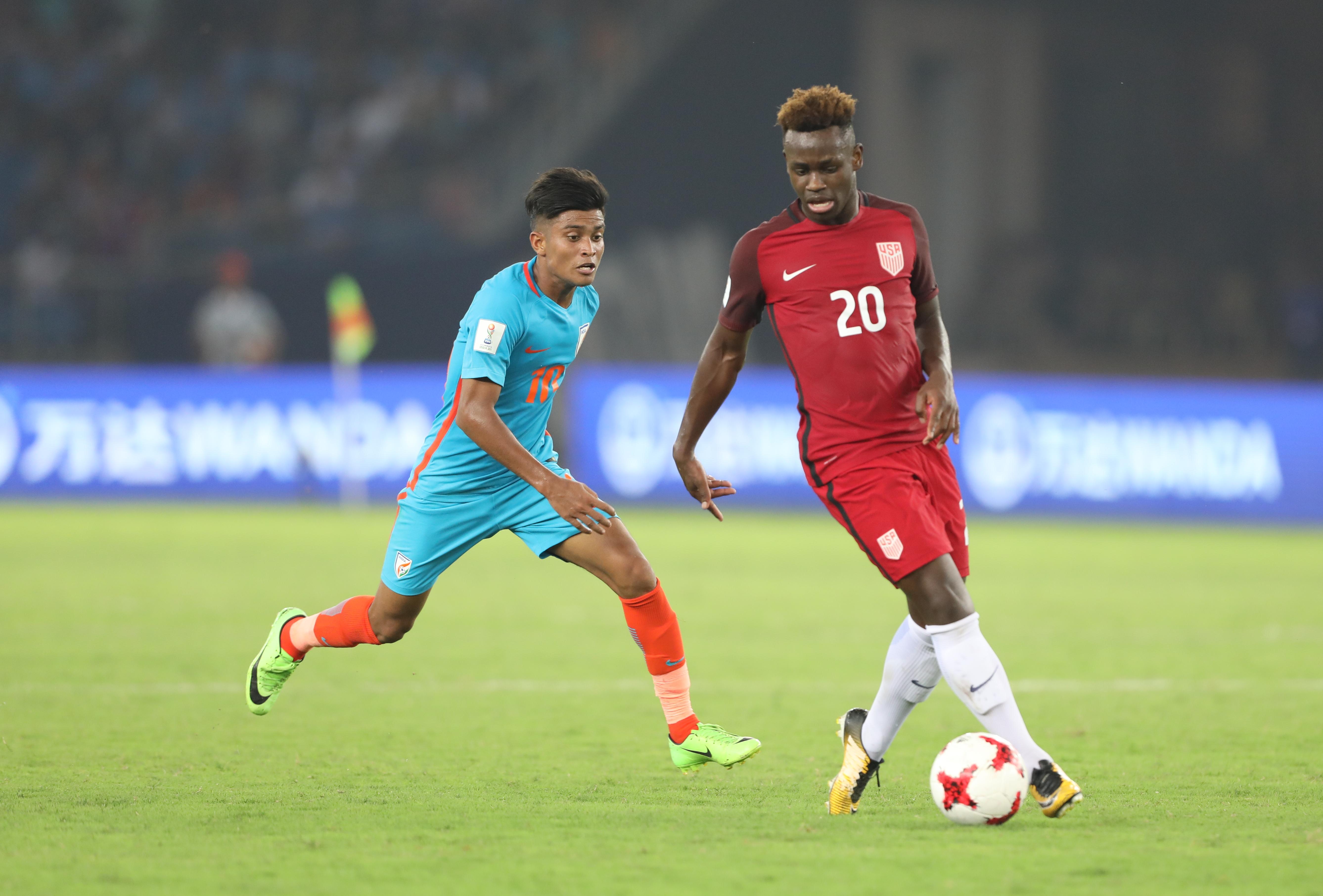 Abhijit Sarkar Chris Goslin India U17 USA U17 2017 U17 World Cup