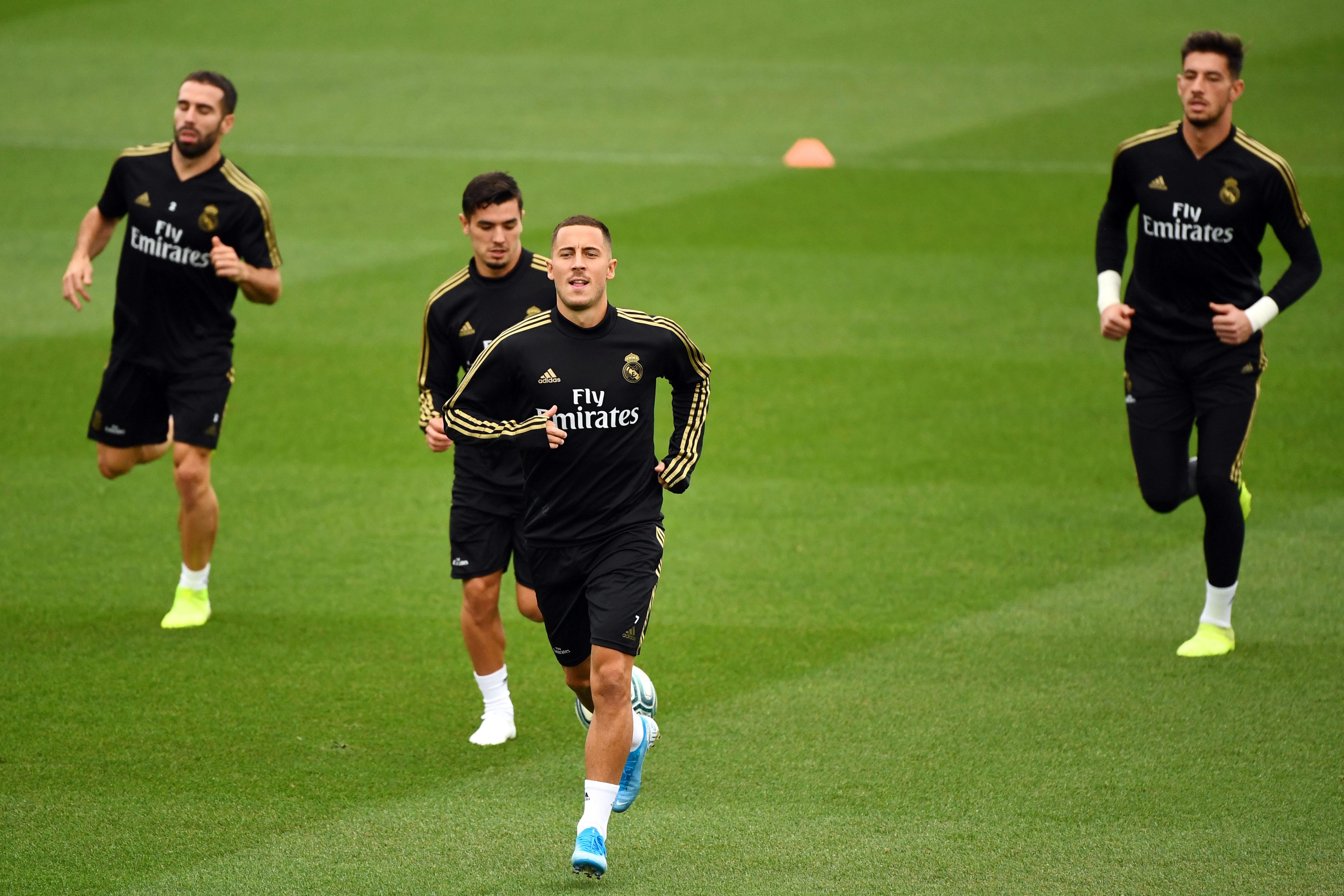 Real Madrid: Eden Hazard est de retour à l'entraînement