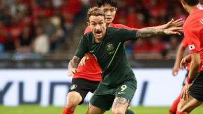 Adam Taggart Socceroos 2018-19