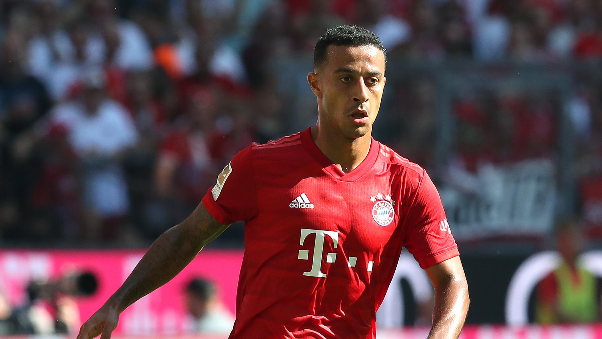 Bayern Munich manager Flick rules Thiago out of Borussia Dortmund clash