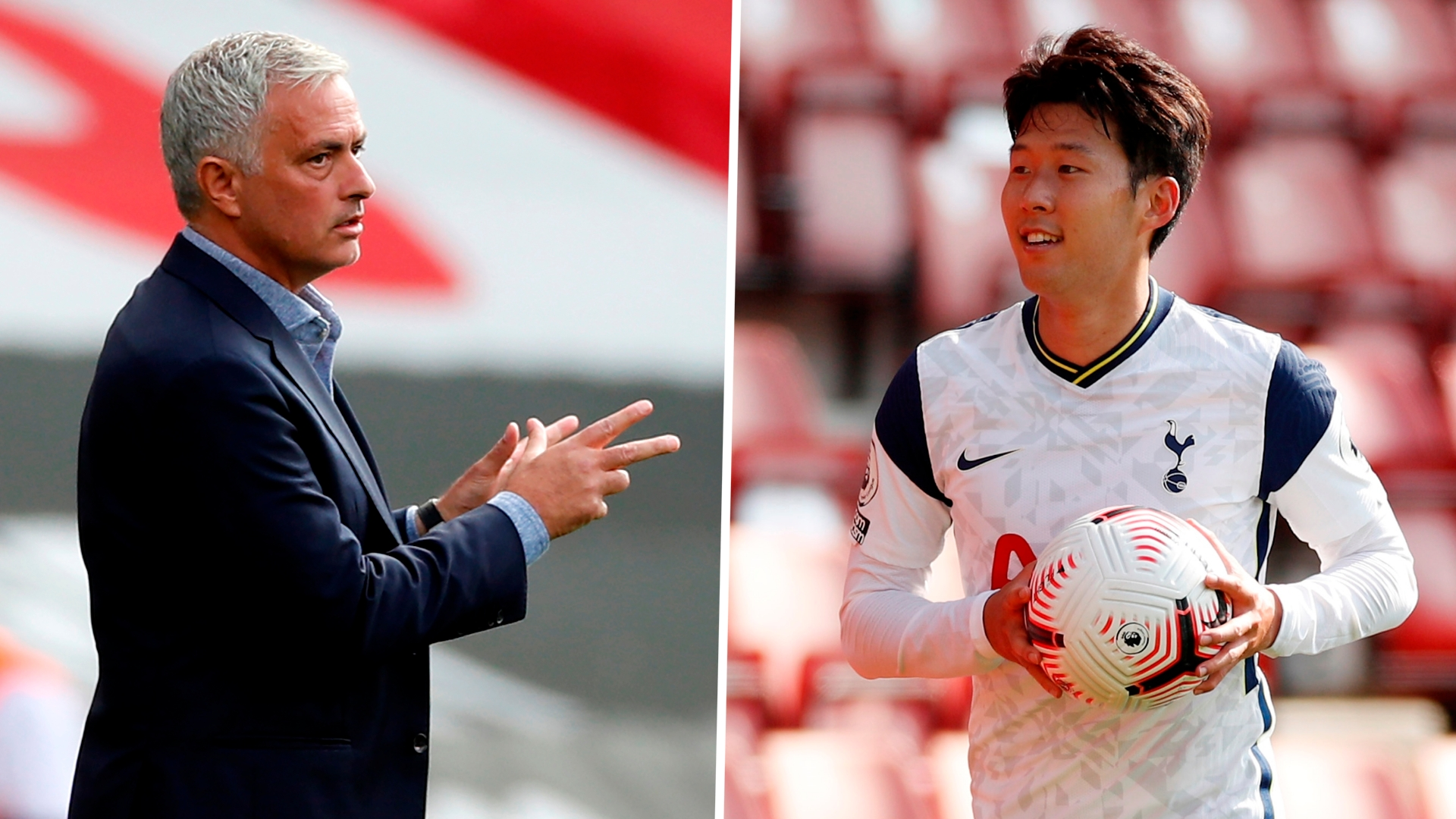 Mourinho interrupts Son interview to name Kane man of the match