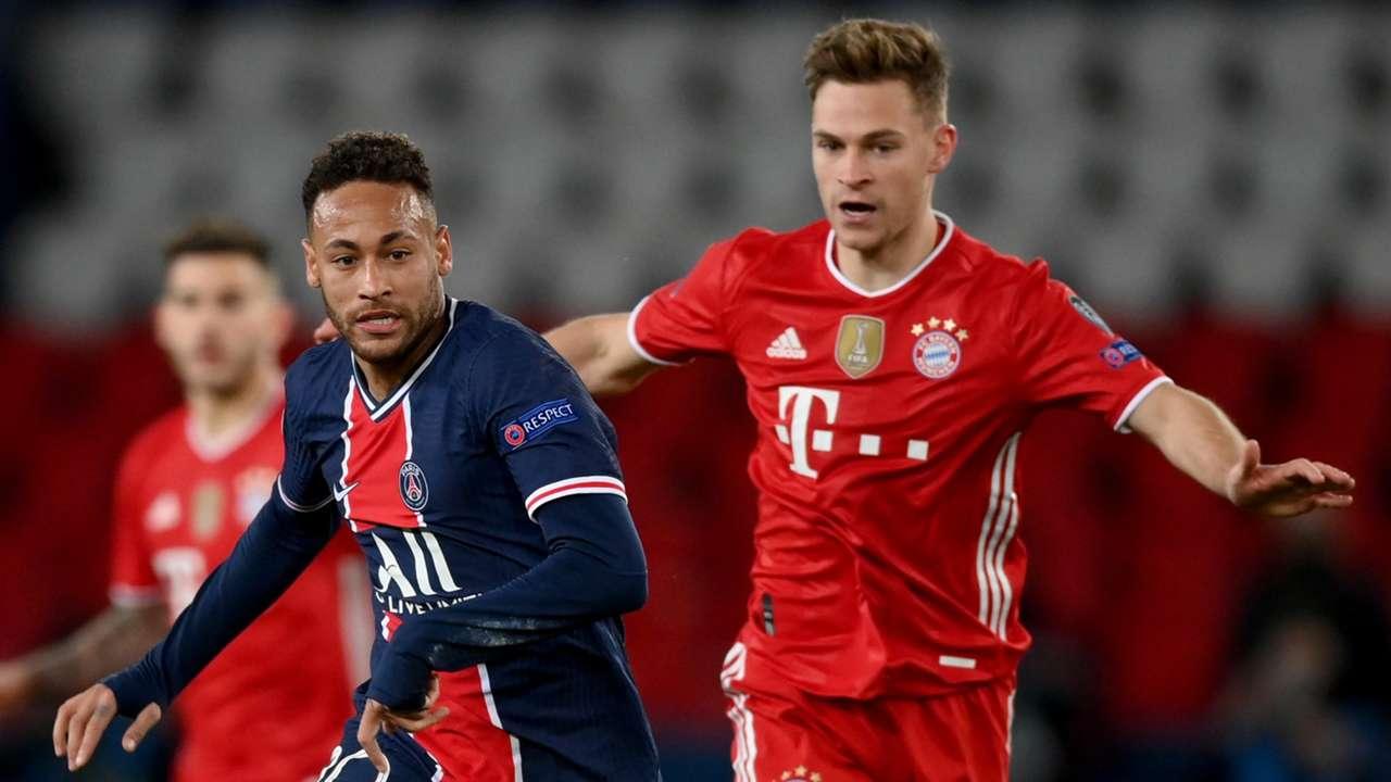 Neymar Joshua Kimmich PSG Bayern 2021