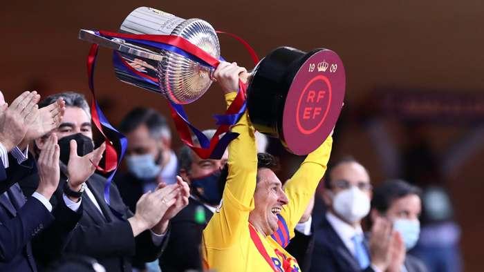Messi deixa Barcelona tendo conquistado 35 títulos - Getty Images