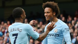Raheem Sterling Leroy Sane Manchester City 2017