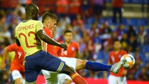 Davinson Sánchez Colombia - Chile Amistoso 2019