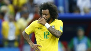 Marcelo Brazil Belgium World Cup 070718