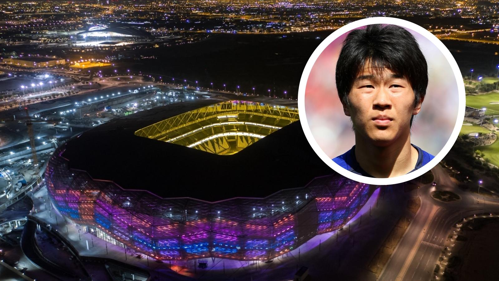 2022 FIFA World Cup: Japan's Kensuke Nagai wowed by Education City Stadium experience
