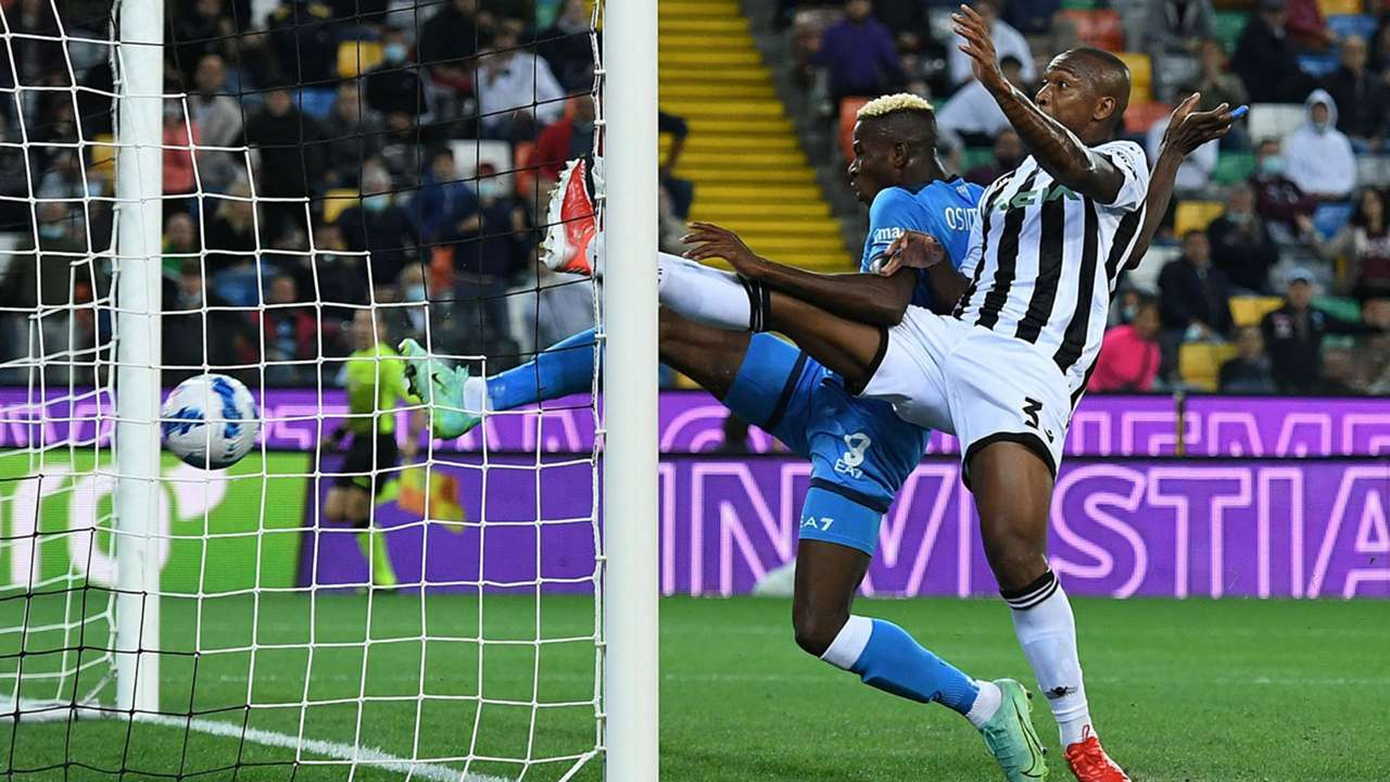 Victor Osimhen Udinese Napoli Serie A