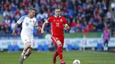 Wales Slovakia Gareth Bale