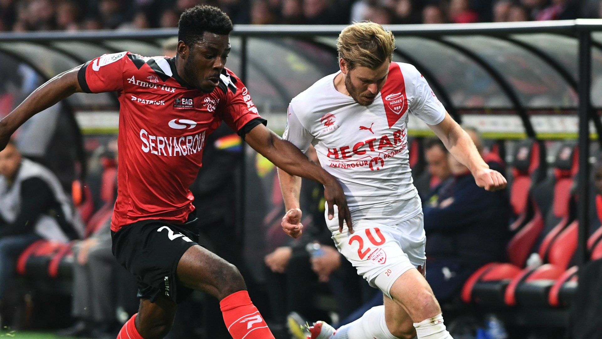 Nightmare for Eboa Eboa as knee injury rules Guingamp star out of 2020-21 season