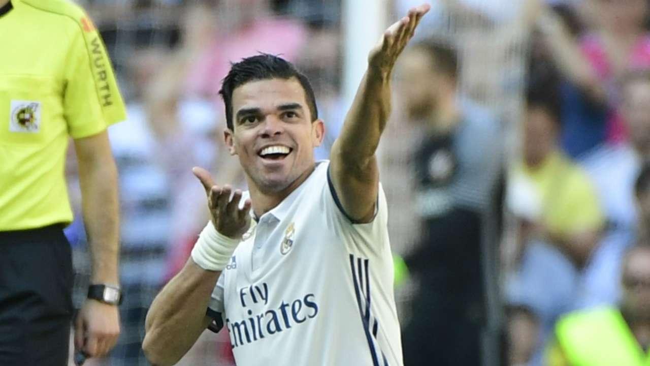 Pepe Real Madrid Atletico Madrid La Liga