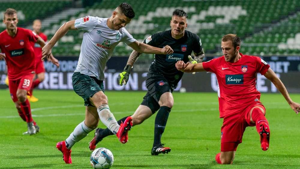 Bremen Heidenheim Rückspiel
