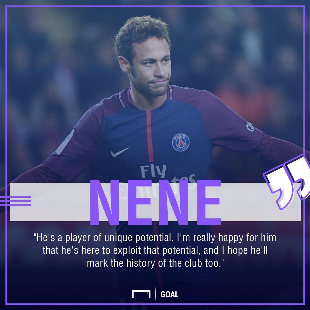 Nene Neymar unique potential