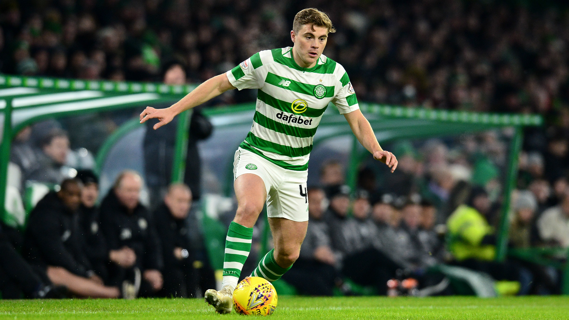 James Forrest Celtic 2018-19