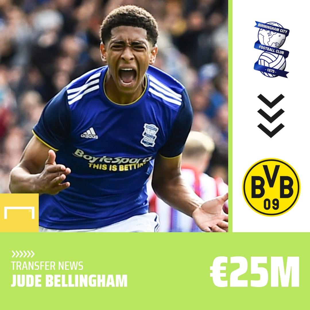 Dortmund swoop to sign Bellingham from Blues