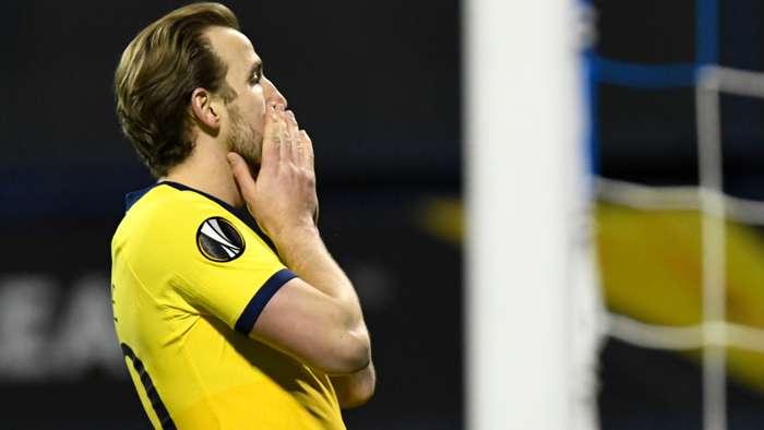 Kane Zagreb Tottenham Europa League