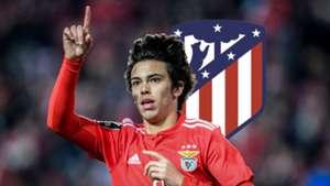 Joao Felix, Atletico Madrid logo
