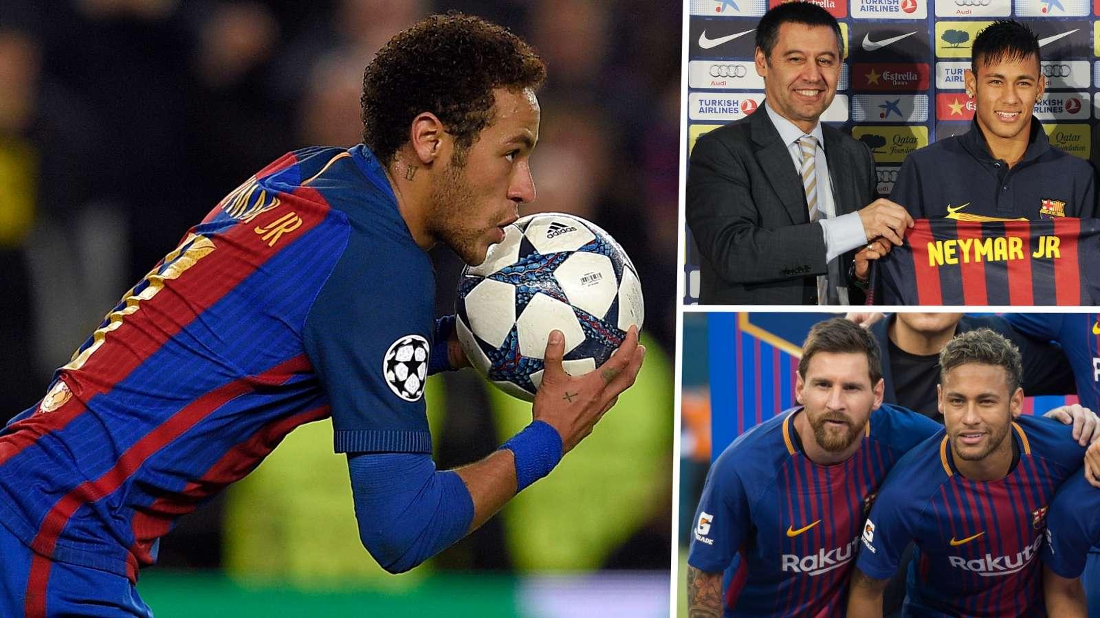 Neymar Bartomeu Messi Barcelona GFX