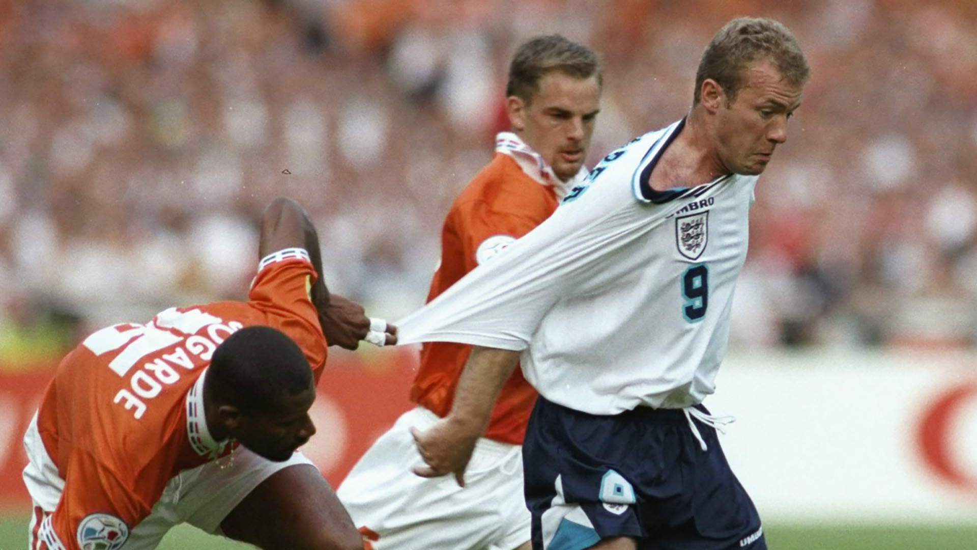 England's Euro 96 best XI? The team that demolished the Dutch