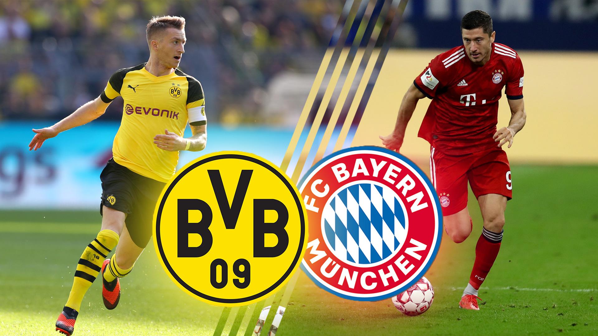 Bvb Vs Fc Bayern Live Im Tv Und Live Stream Wer Zeigt