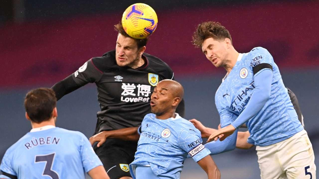 Man City vs Burnley, header