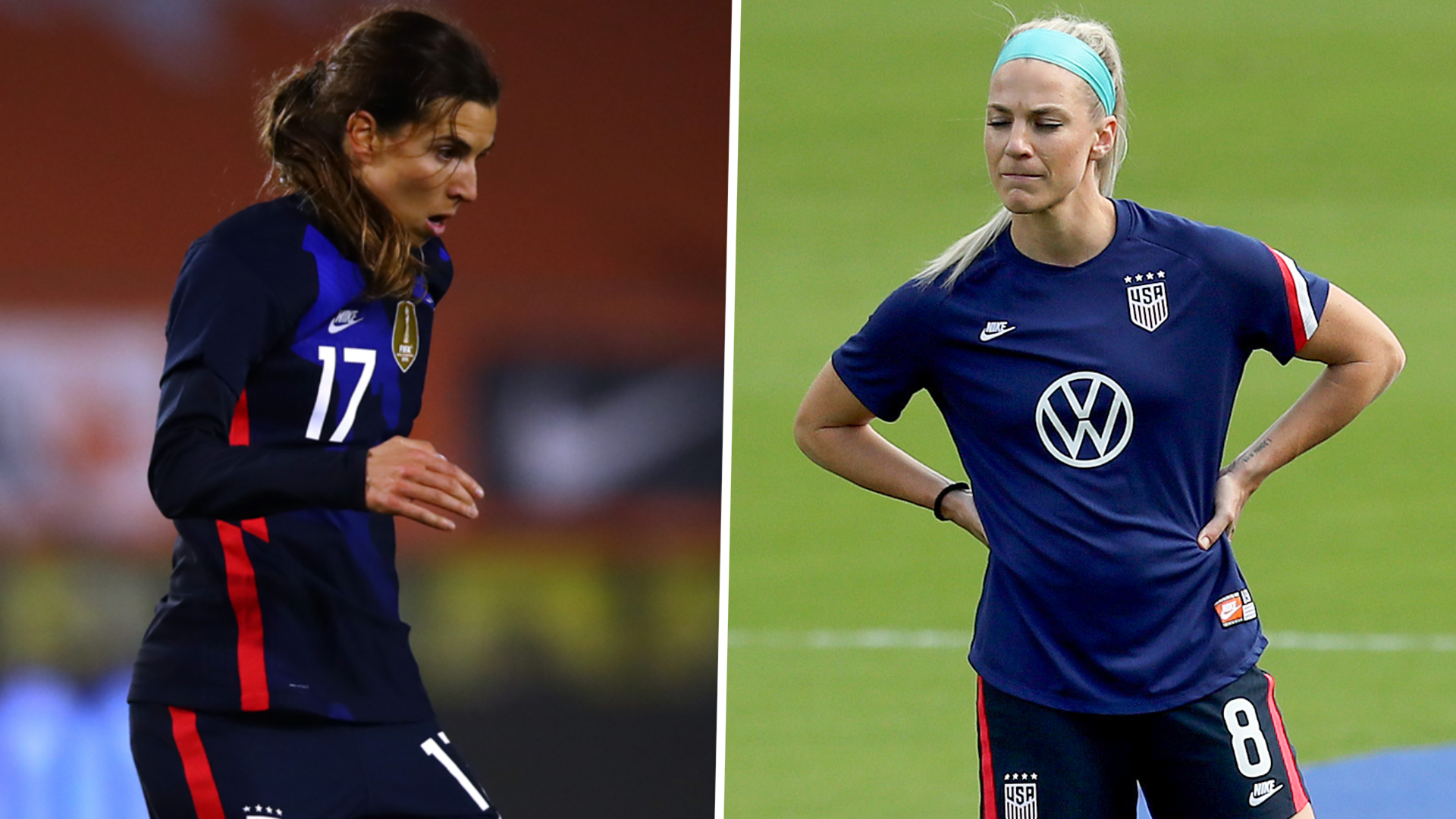 USWNT stars Heath and Ertz 'on schedule' to play in Olympics, says Andonovski