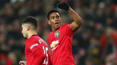 Martial Manchester United 2019