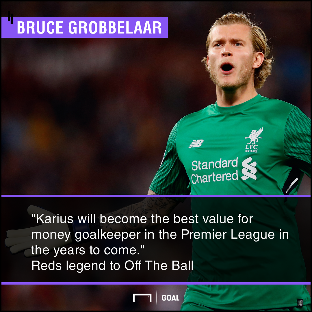 Loris Karius best value for money Premier League Bruce Grobbelaar