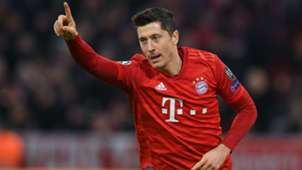 Robert Lewandowski Celebration Bayern Munchen Olympiacos 11062019